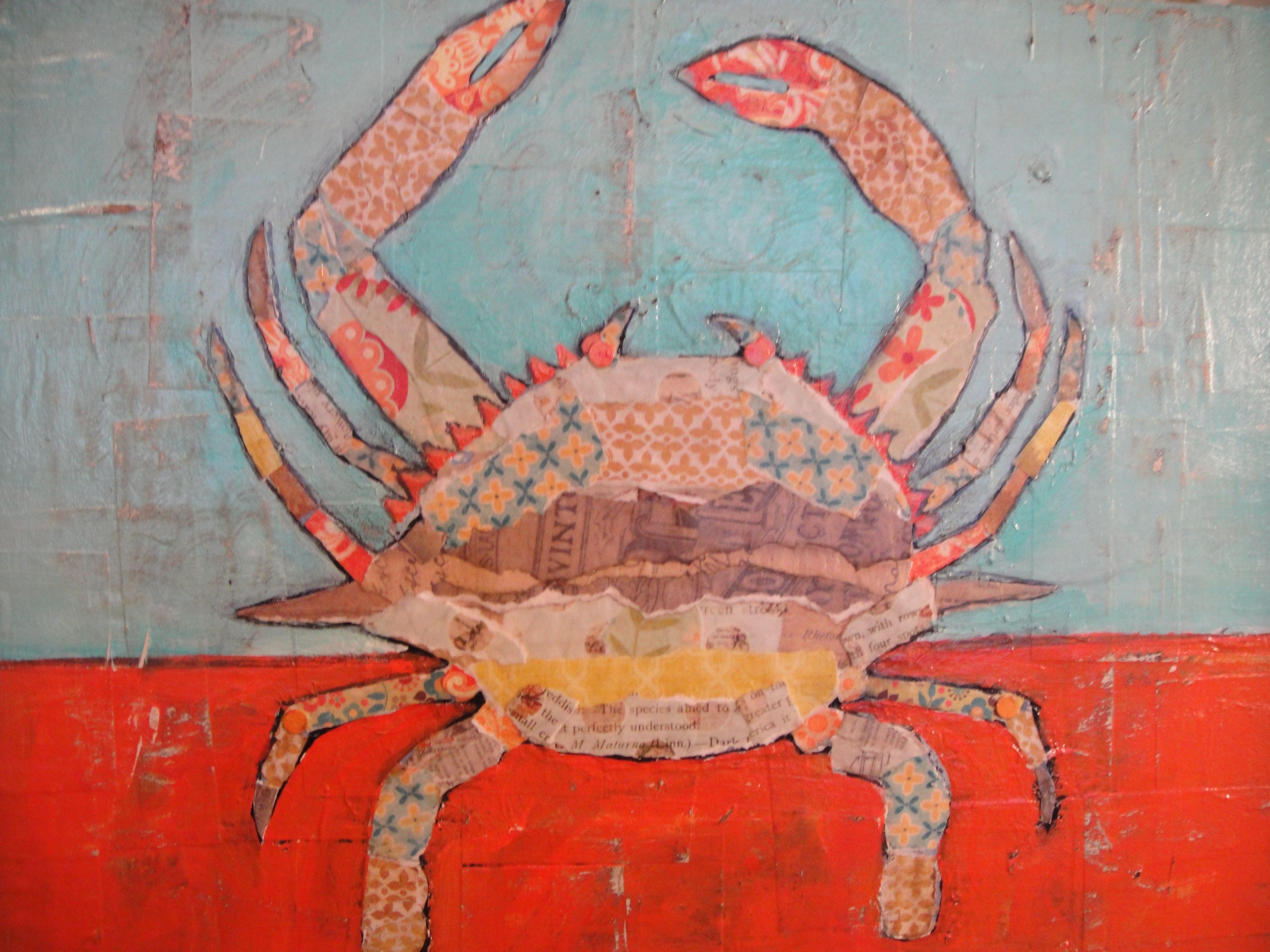 Multicolored Maryland Crab Bodegas
