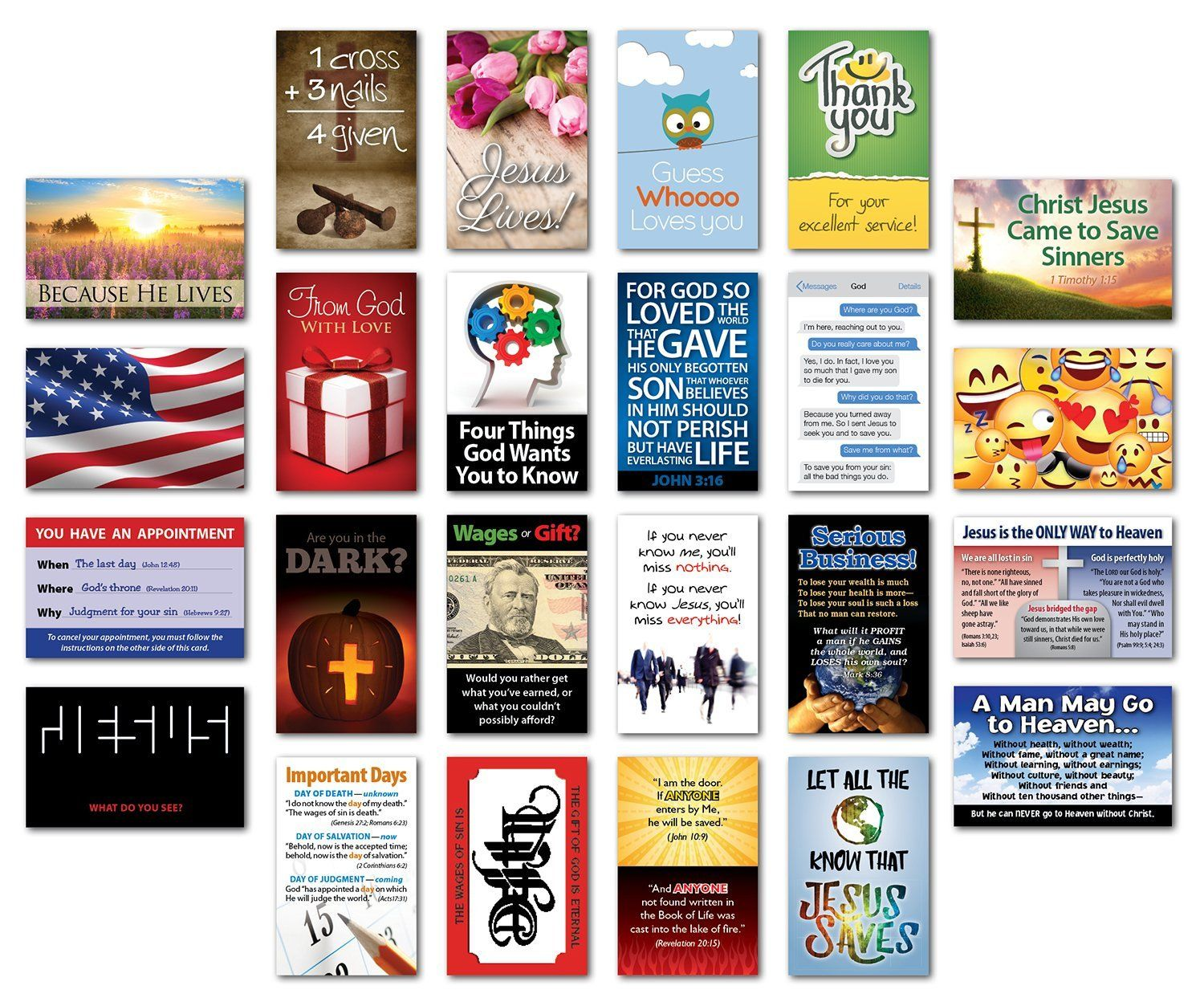 Amazon com : Mini Tracts Sample Pack (NKJV) : Everything Else
