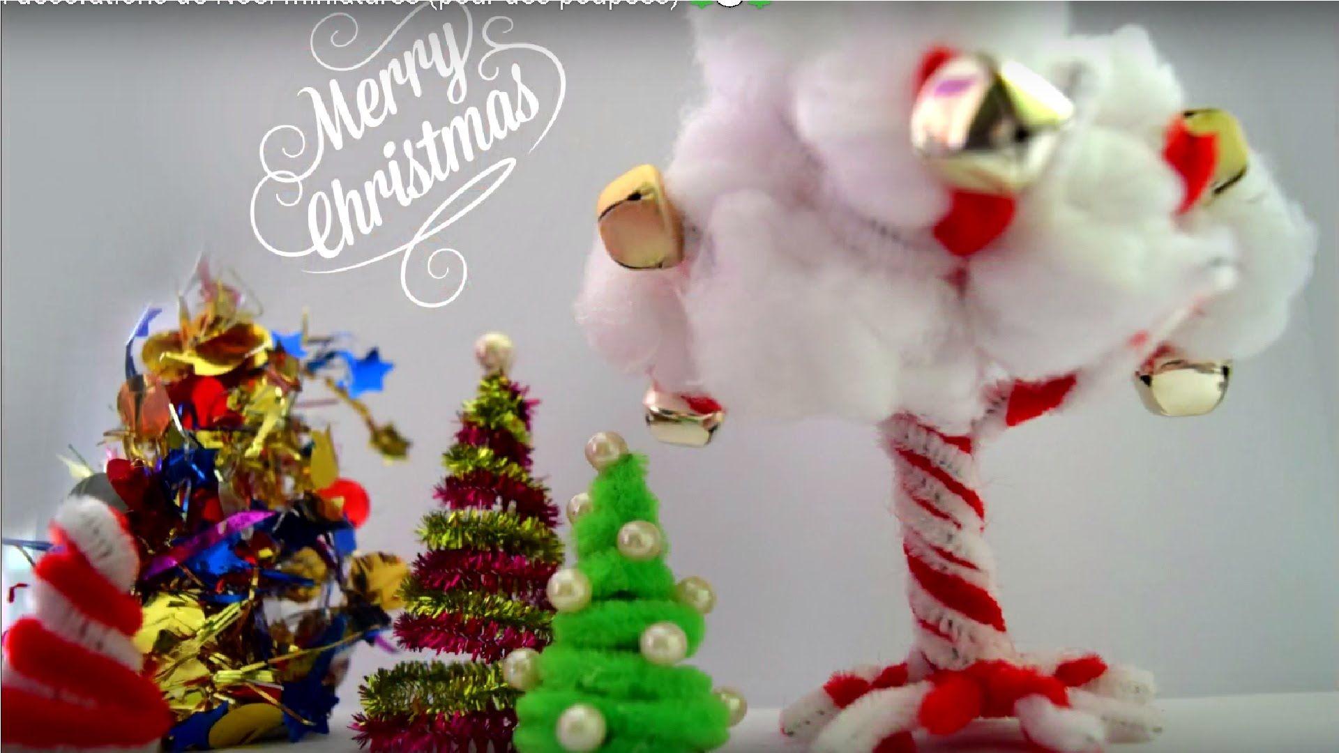 tutorial how to make miniature christmas decorations for dolls - How To Make Miniature Christmas Decorations