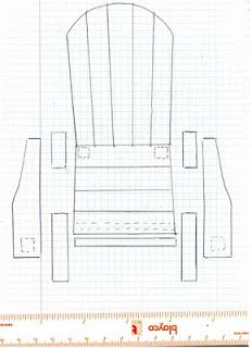 Lawn Chair Template I Think I Could Figure This Out