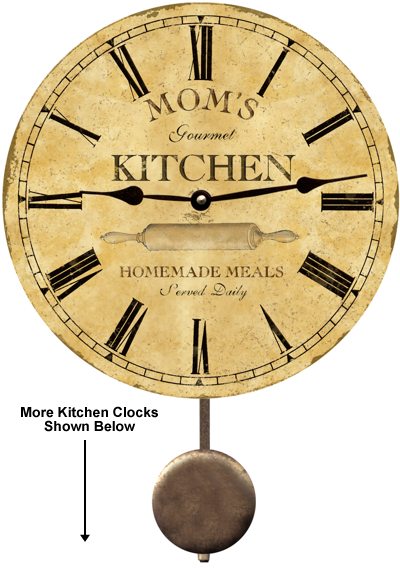 Kitchen Clock Products I Love Kitchen Wall Clocks
