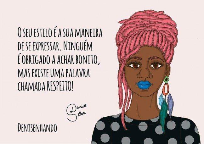 Frases De Empoderamento: Denisenhando: Ilustrações Poderosas Com Mensagens