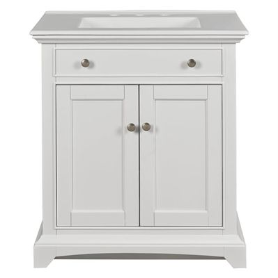 style selections bathroom vanity 98873 30 inch freestanding single rh pinterest com
