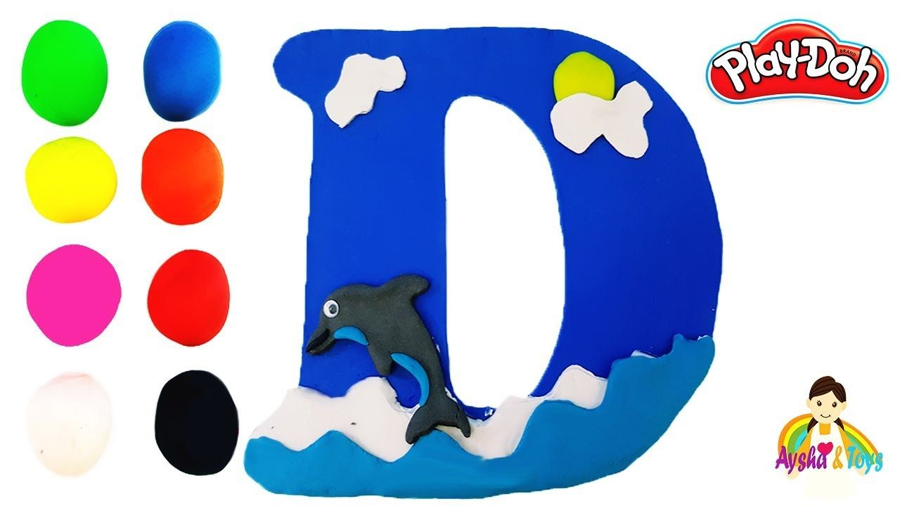 The Letter D Learning Abc With Play Doh Learn Colors Alphabet For Kids Alphabet For Kids Learning Abc Learning Colors