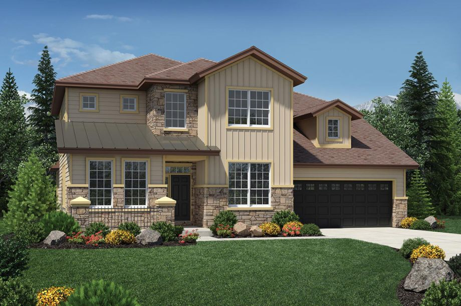 Toll Brothers Granby The Farmhouse New homes for