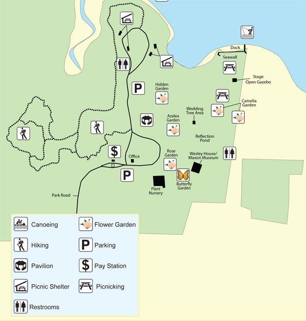 Santa Rosa Florida Map.Eden Gardens State Park Santa Rosa Beach Florida Map Beach