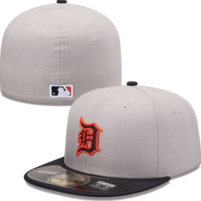 online store 3af79 22350 Detroit Tigers New Era MLB Diamond Tech 5950 Fitted Hat (Gray)
