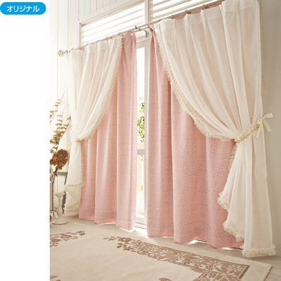 ボイルカーテンUH   Cottage Frippery   Curtains、Drapes curtains、Bedroom decor