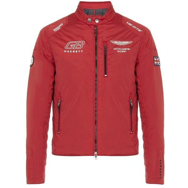 hackett aston martin racing coupe jacket found on polyvore. Black Bedroom Furniture Sets. Home Design Ideas
