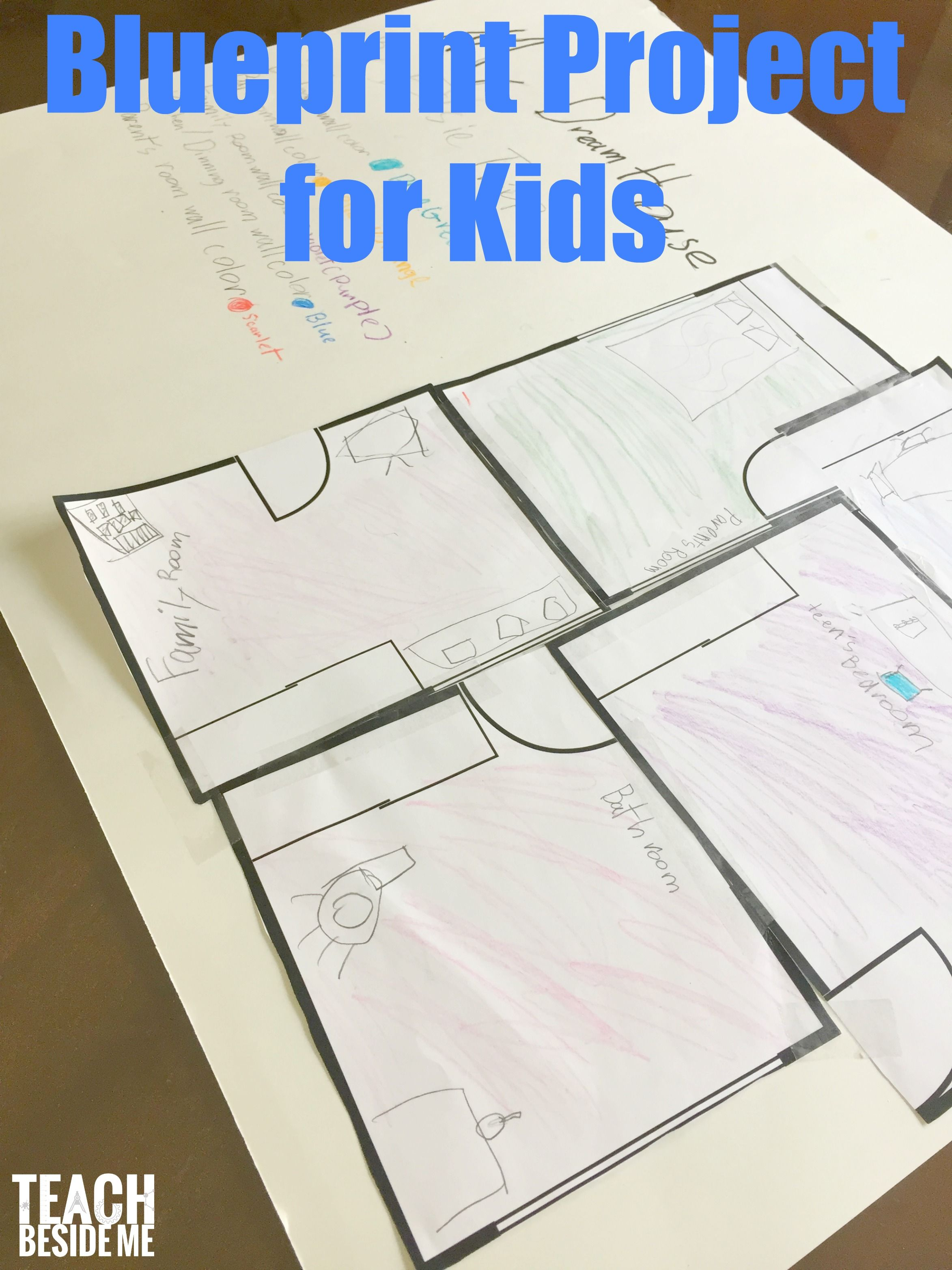 Blueprints And Architecture For Kids Inspired By Frank
