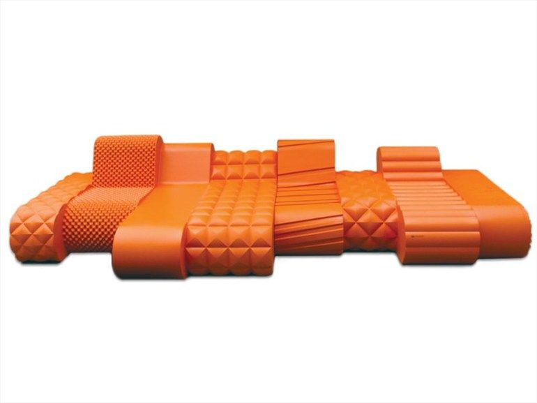 pieter jamart + six inch: #orange beast lounge chairs #chair