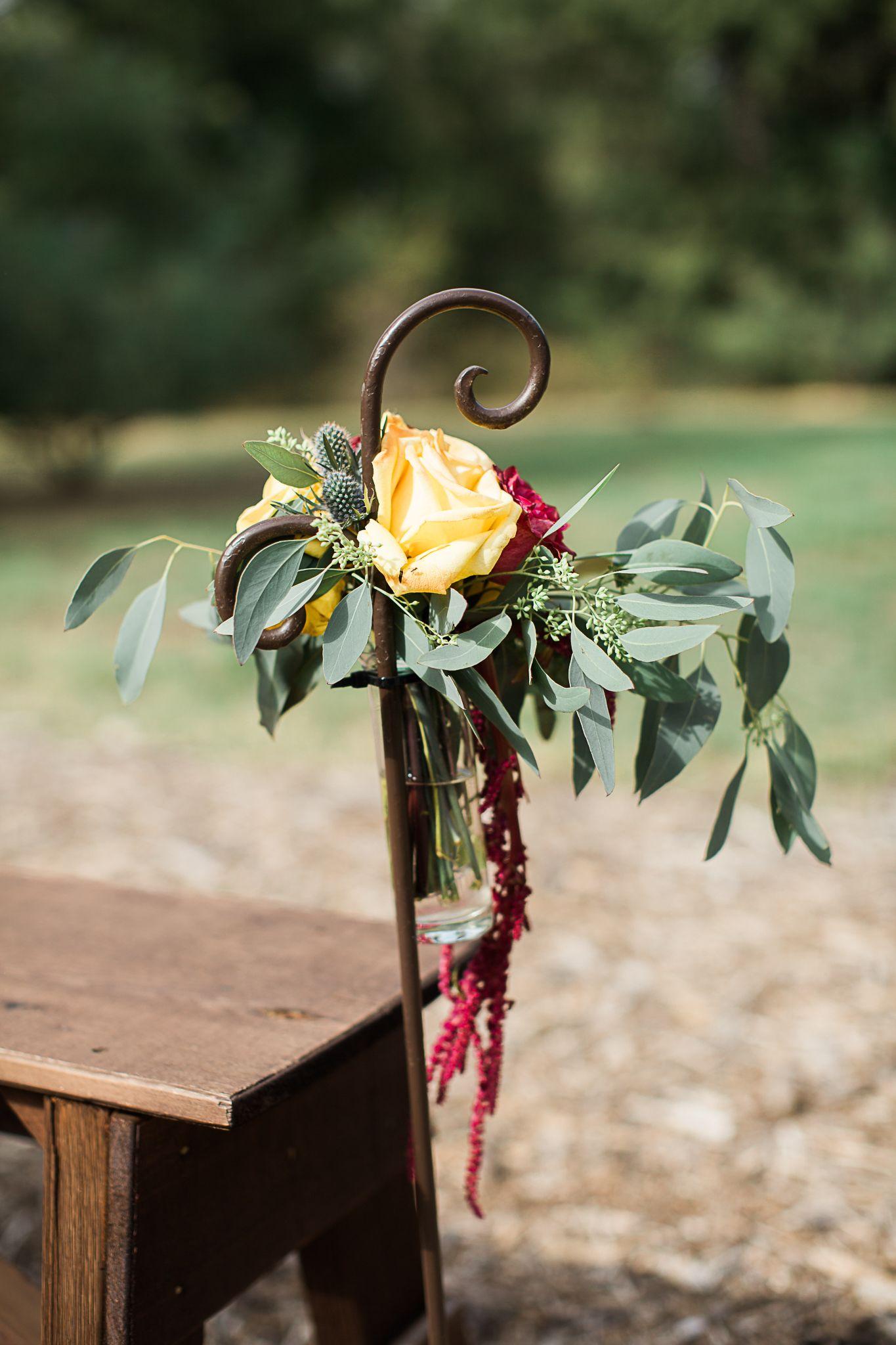 October wedding at The Grove! ChelseaWhitePhotography see