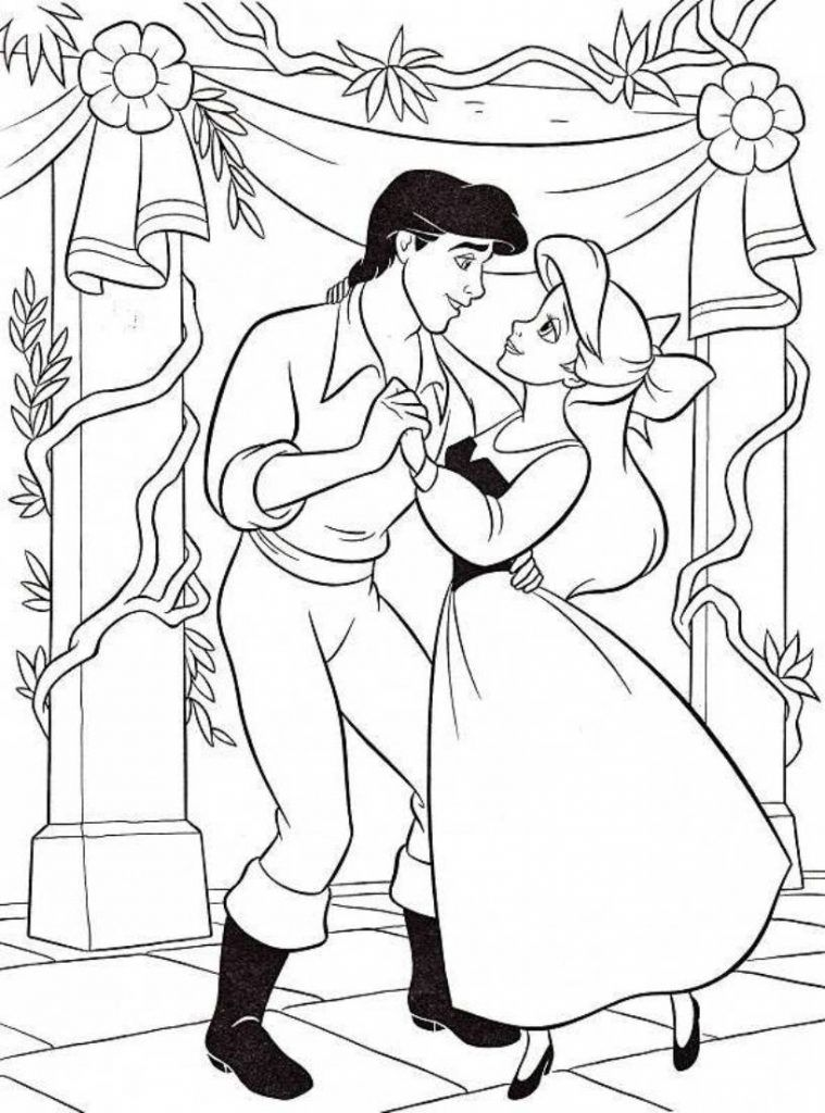 Ariel Coloring Pages Ariel Coloring Pages Princess Coloring
