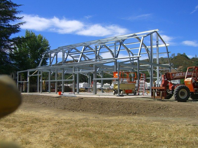 Gambrel Steel Building Workshop | 미국식창고 | Pinterest | Gambrel ...