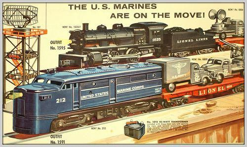 Lionel Train Catalog 1954 #lioneltrainlayouts Model Train Kits