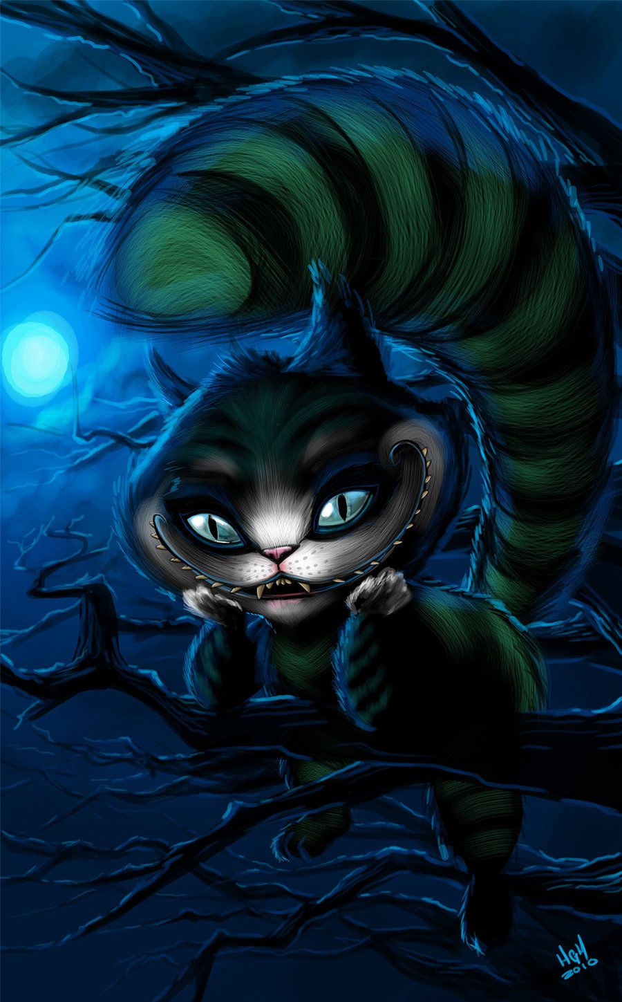 Cheshire cat by 7thorserider.deviantart.com on @deviantART ...