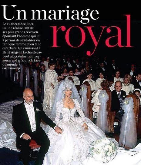 Celebrity Wedding Singers: Céline Dion René Angélil ☝ Mariage Montréal
