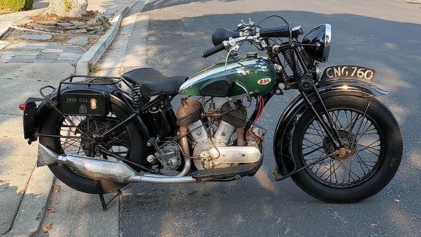 1938 Bsa G14 R237 1 Las Vegas 2021 In 2021 Mecum Auction Bsa Motorcycle Las Vegas