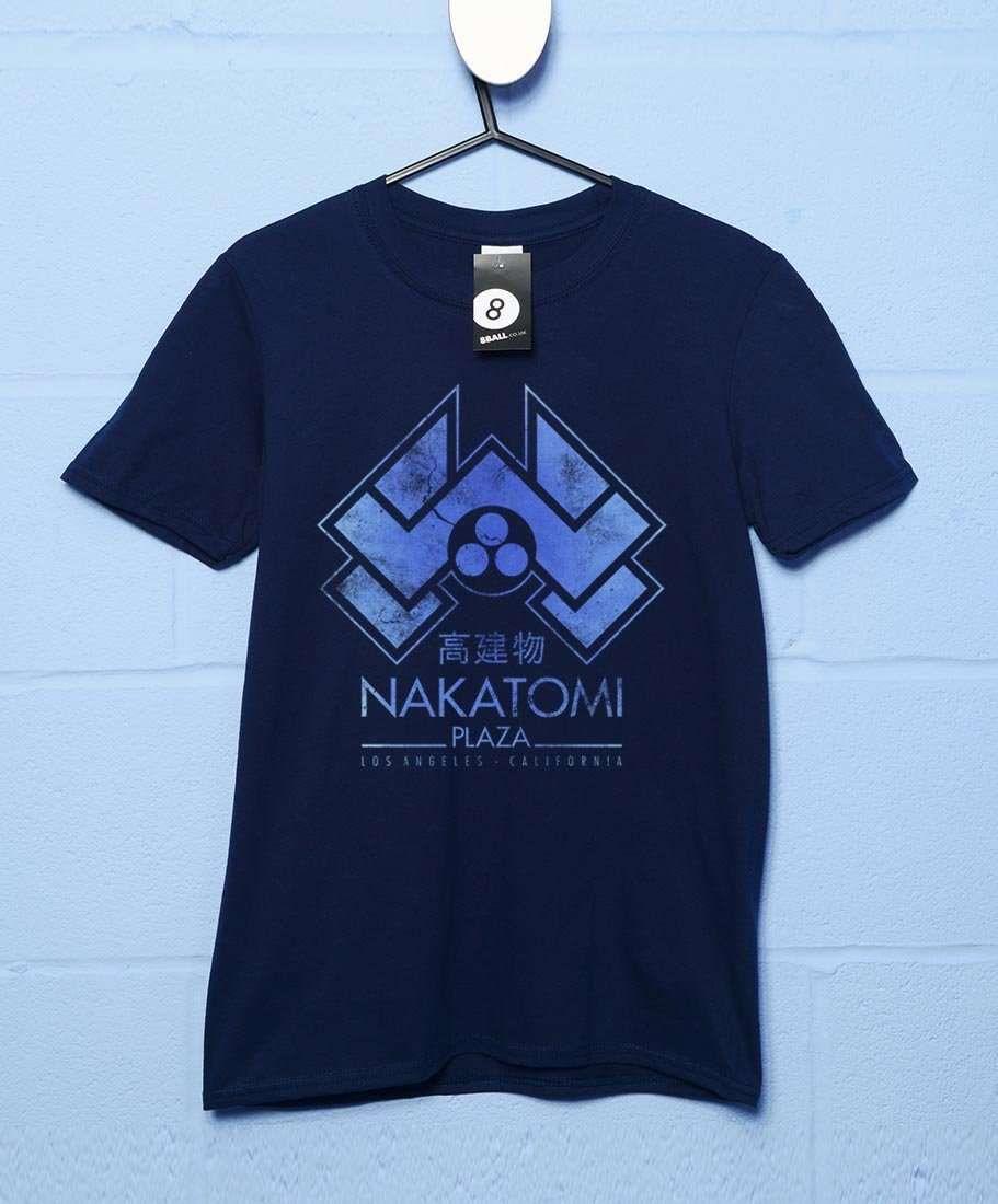 Nakatomi Plaza T-Shirt - Navy / 2XL