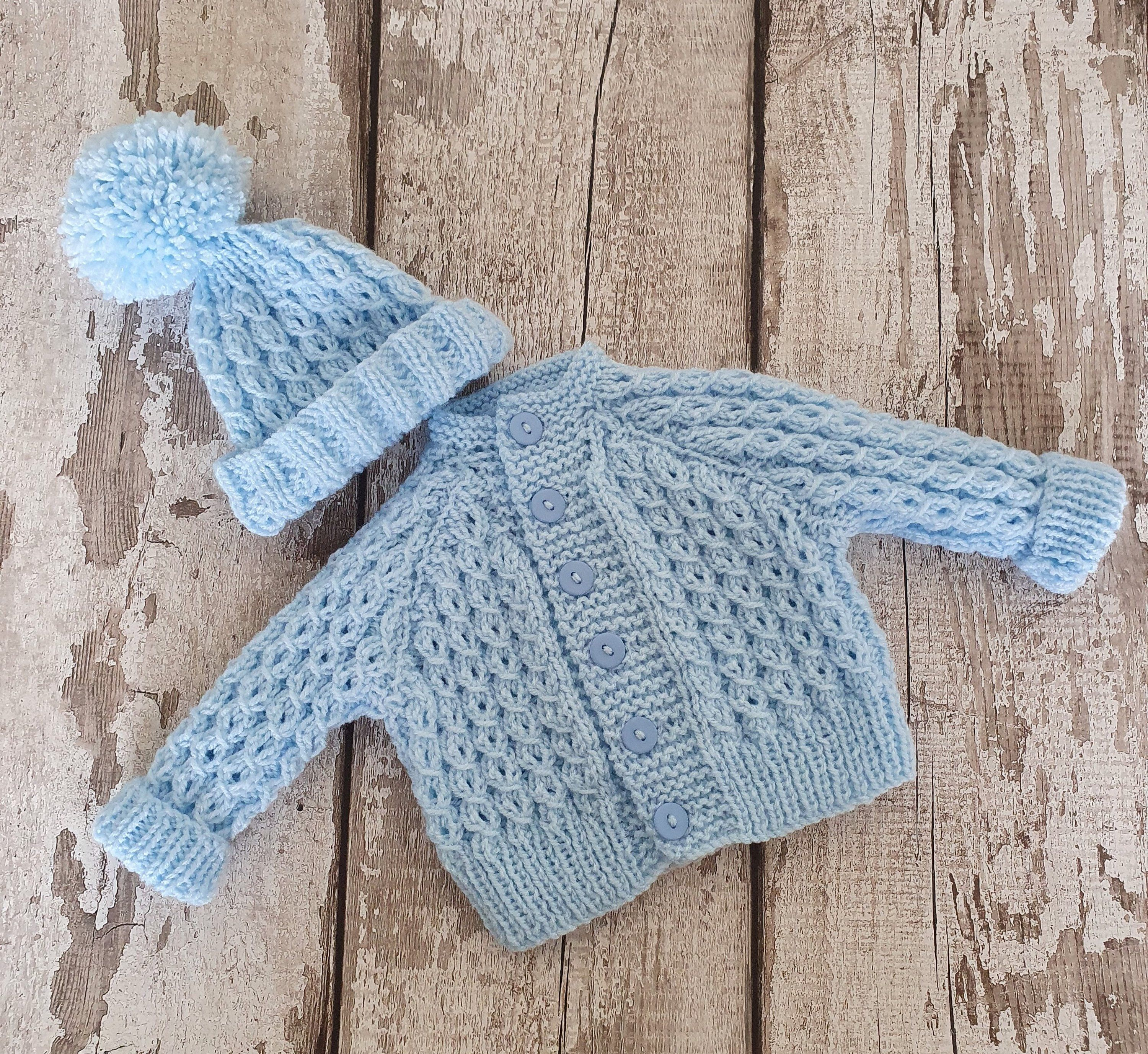 Details about  /Baby Boys Blue Sweater