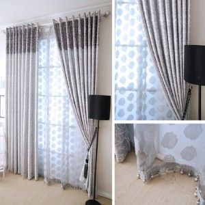 Detalle dise o cortinas para salones copia decoracion for Cortinas para decorar salones