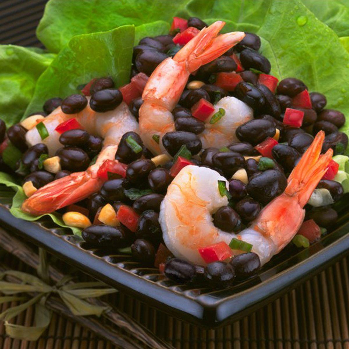 Silk Road Black Bean Salad featuring Bush's Baked Beans #bushbeans #bakedbeans