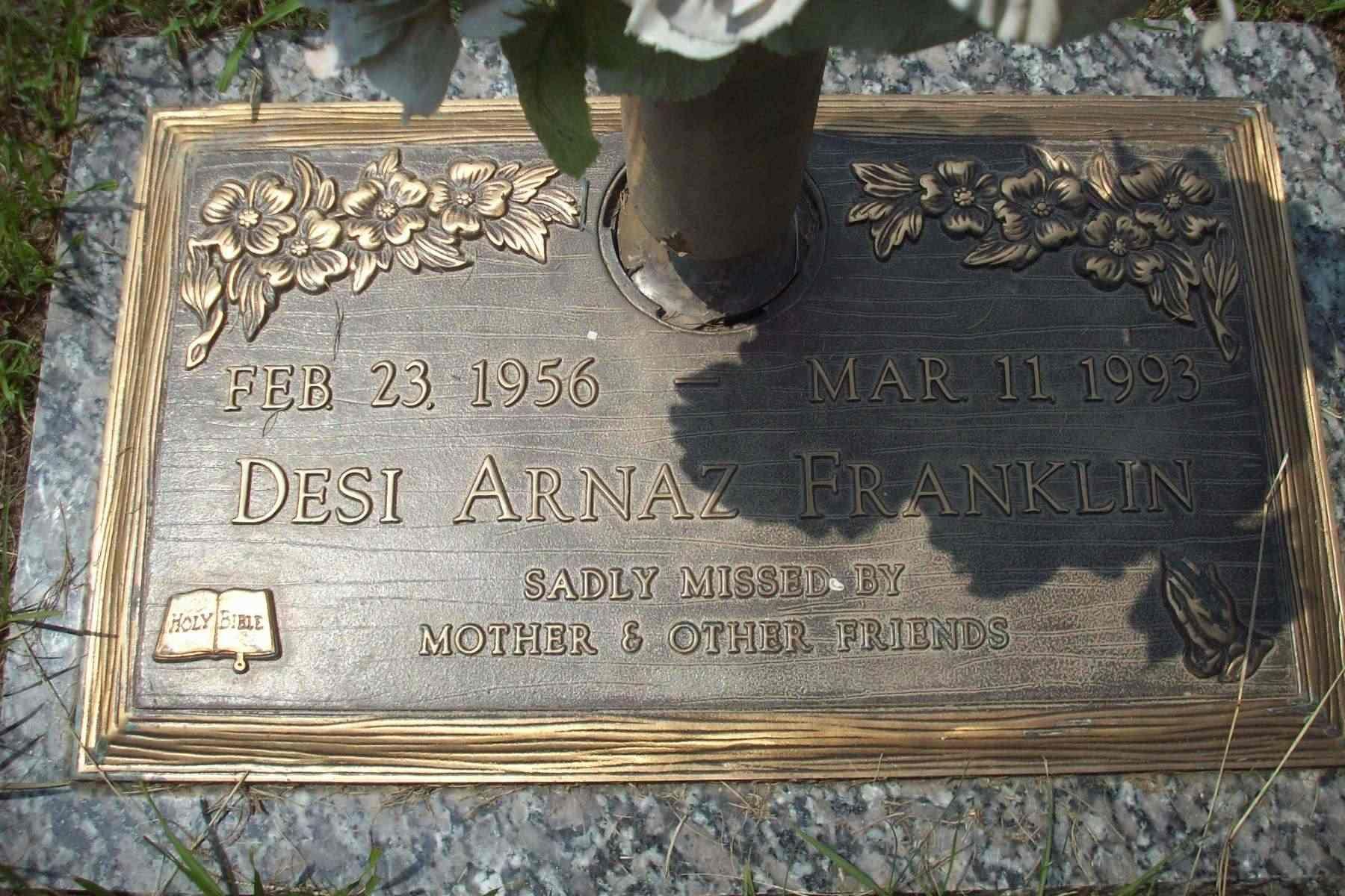 Desi Arnaz Funeral Desi Arnaz Franklin 1956 1993 Find A