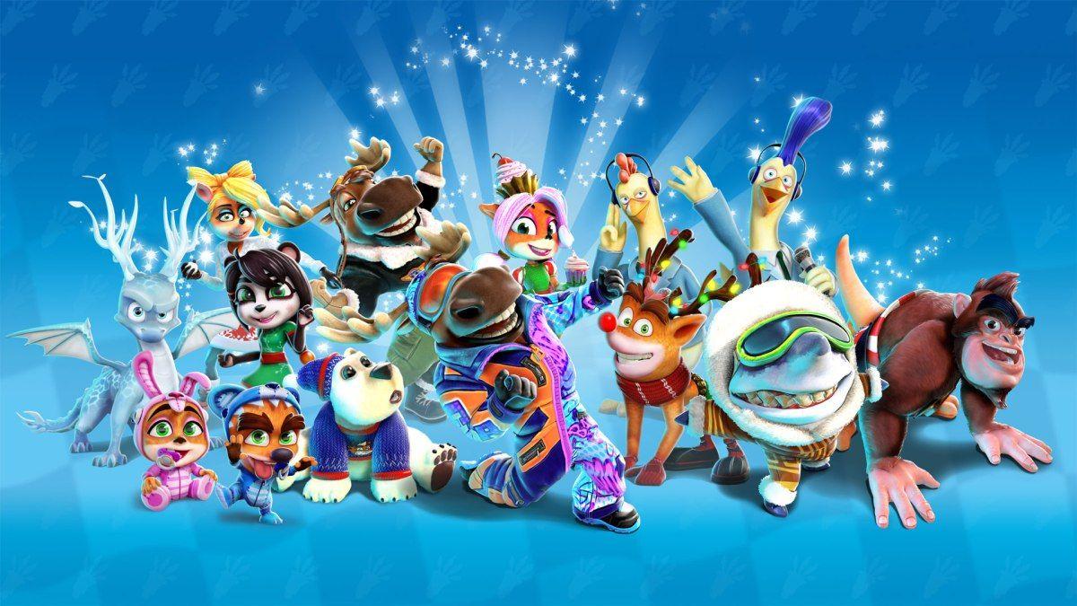 Nintendo News Nintendoreporters Crash Team Racing Winter Festival Grand Prix