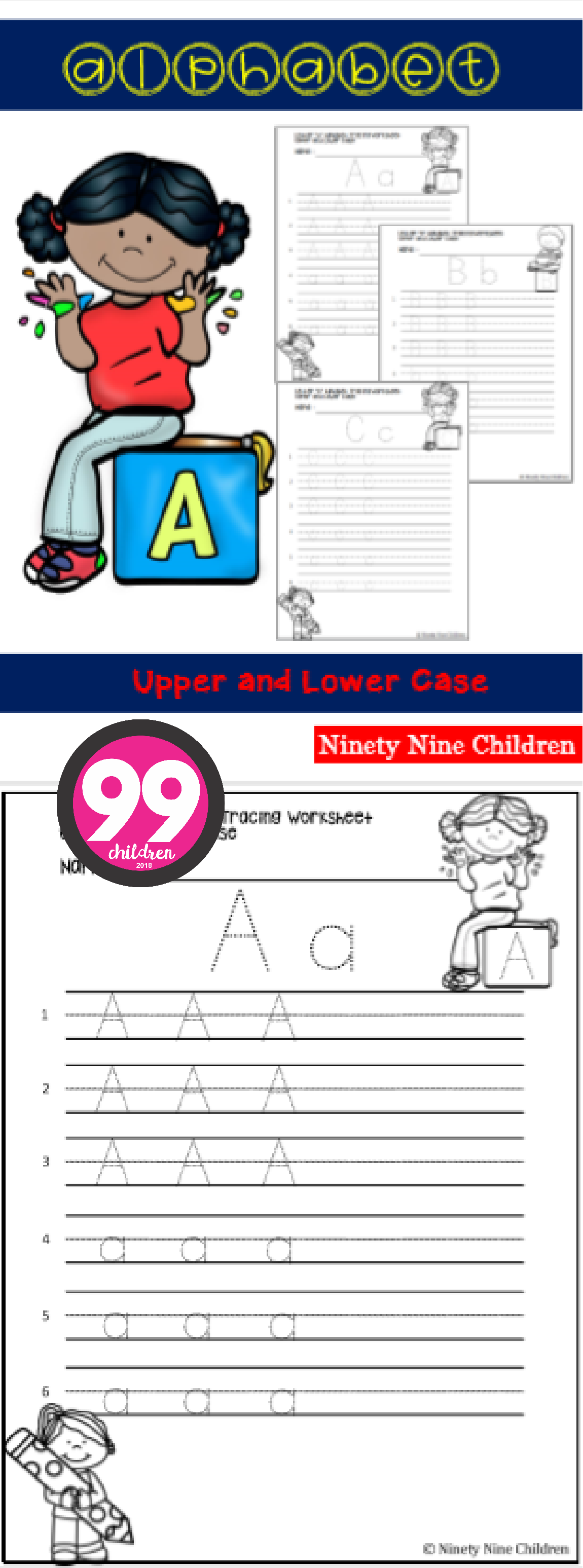 Free Alphabet Upper And Lowercase