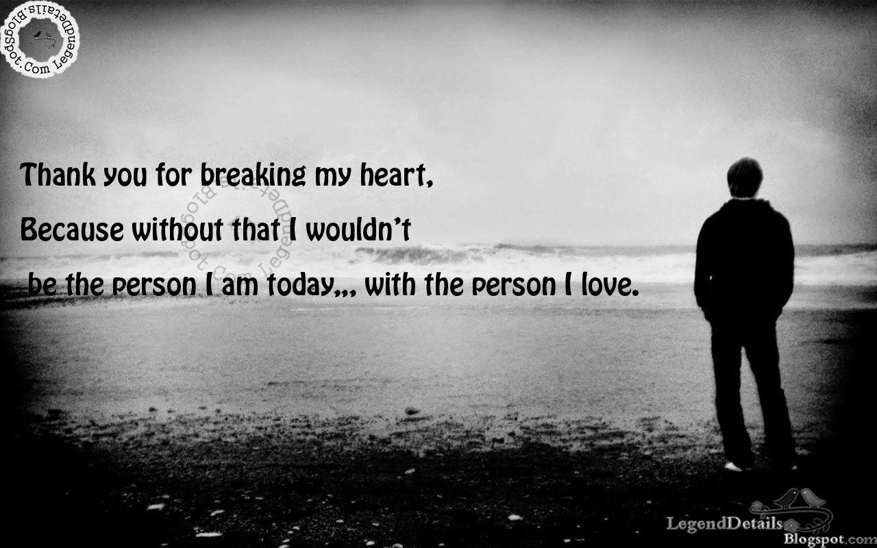 sad love quotes heart broken quotes sayingimagescom - HD1280×800