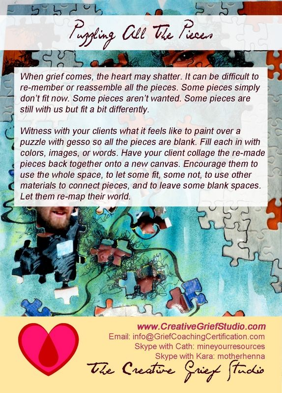 Do you want to be one of our next Certified Creative Grief Support ...
