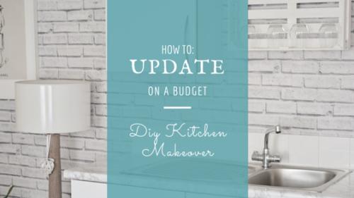 DIY Kitchen Makeover | d-c-fix California