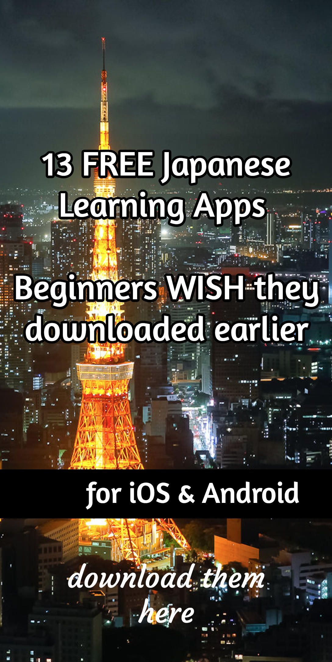 learn japanese app download