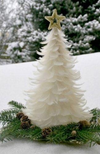 Unconventional DIY Christmas Trees #christmastree