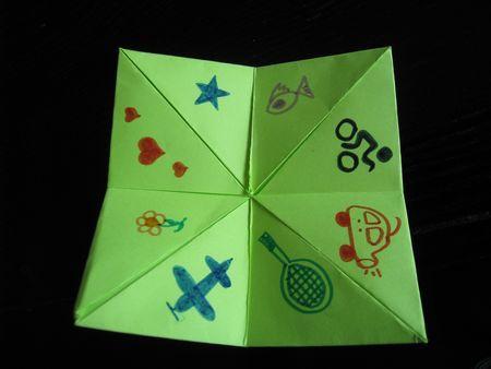 pliage cocotte en papier origami facile jeu de gages origami pinterest. Black Bedroom Furniture Sets. Home Design Ideas
