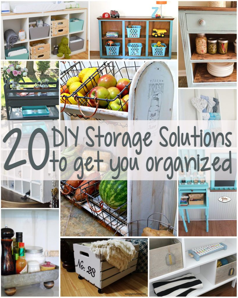 Lovely 20 DIY Super Creative Storage Solutions