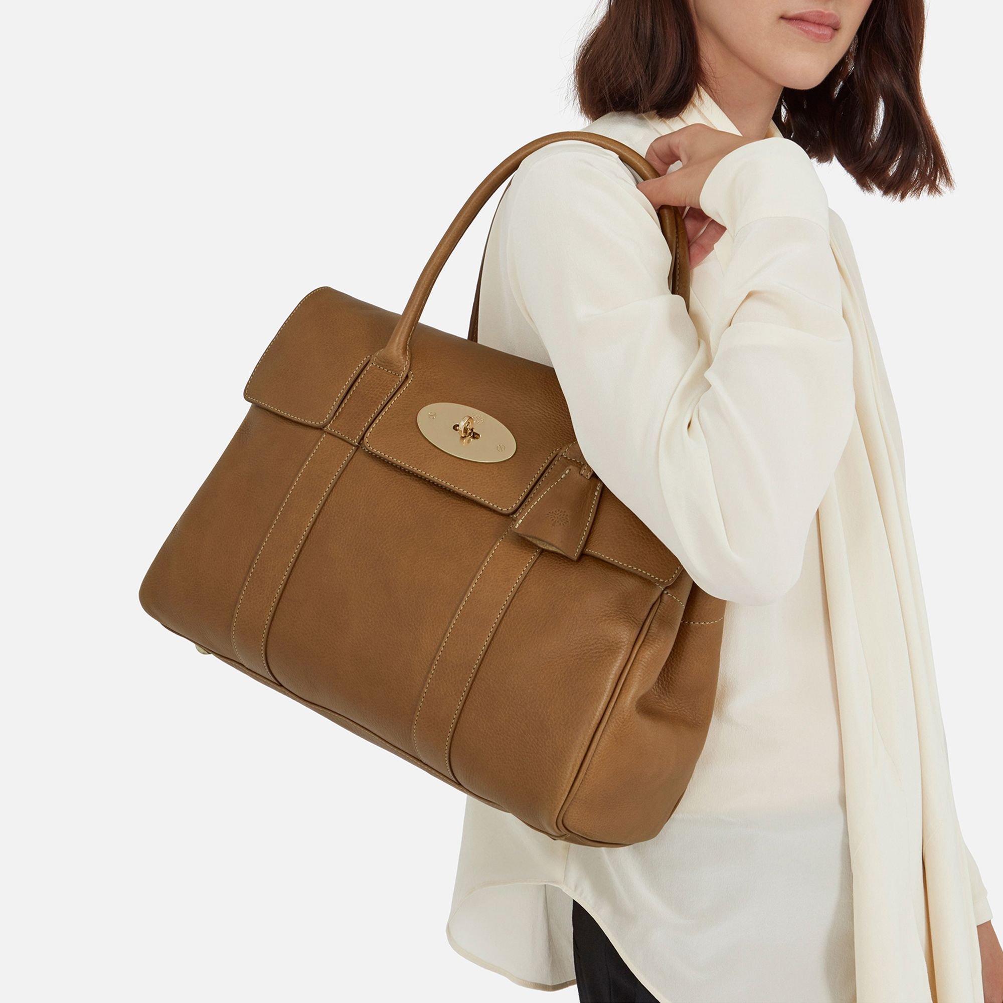 4f2f1398798 Heritage Bayswater   Oak Natural Leather   Women   Mulberry ...
