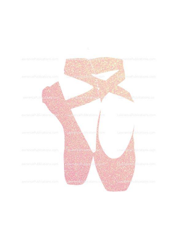 Svg Dxf Png File Ballet Slippers With Soft Pink Sparkle Ballet Ballerina Balletshoes Enpointe Pointeshoes Danc Pink Aesthetic Pink Sparkle Pink Glitter