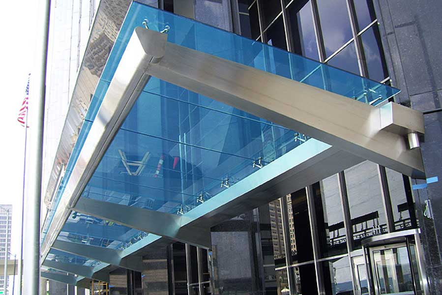 Discover All The Information About Product Entrance Canopy Glass Stainless Steel