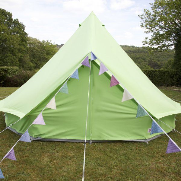 Green canvas bell tent & Green canvas bell tent | ???? | Pinterest | Tents and Family ...