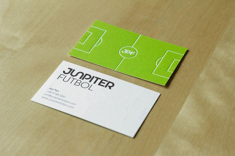 Junpiter Futbol Business Card  By: Bravo Company