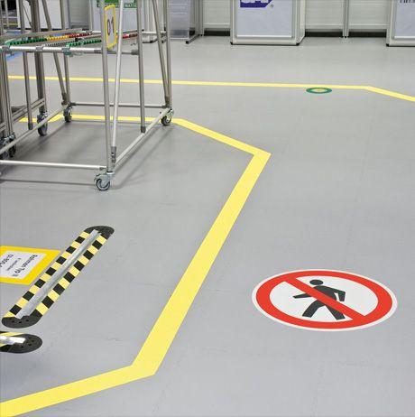 Floor Markings Industrial Floor Marking Ideas