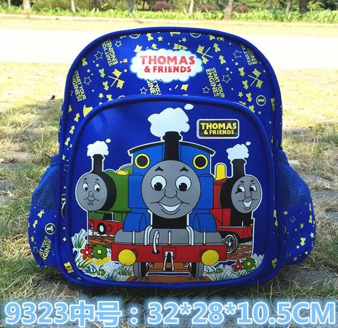 New carton Children backpacks Blue Color Thomas Train backpack for ...