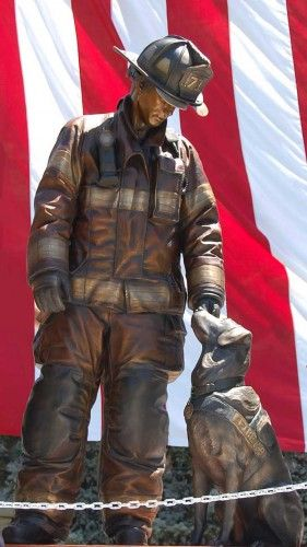 National Fire Dog Monument