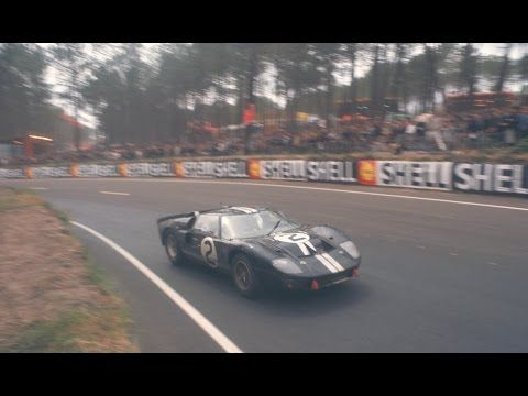 8 Meters Triumph Tragedy And A Photo Finish At Le Mans Youtube Ford Gt40 Le Mans Ford Gt