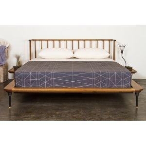 toset bed queen bed in hard fumed furniture styles industrial