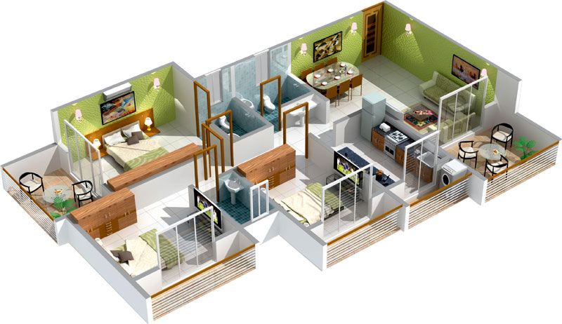 3 Bhk Apartments 1935 Sq Ft 3 Bedroom 3 Toilets Store Room 3 1 Bhk Realtyup Is The Most Eminent And Popu Golf Fashion Womens Golf Fashion Mens Golf Fashion