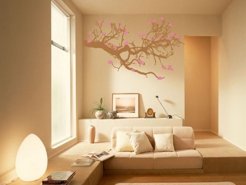 Unique And Modern Paint Ideas For Living In Home Painting