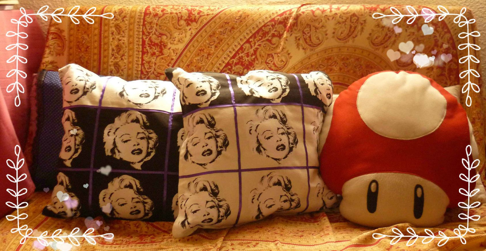 Almohadones Marilyn♥