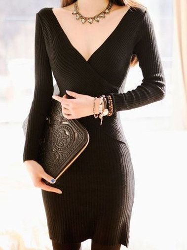 http://www.buytrends.com/Products/sexy-v-neck-solid-color-slim-hip-package-sweater-dress-23046.html?sign=007_pinterest_CU10830469